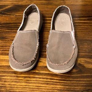 Women's Crocs Canvas Loafer Slip-On Size 9